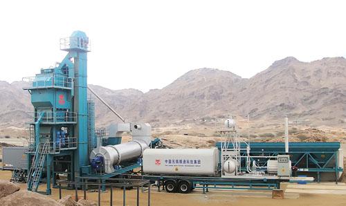 qlb-y系列移动式沥青混合料搅拌设备